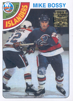 2001-02 Topps Archives #63 Mike Bossy