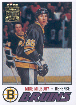 2001-02 Topps Archives #70 Mike Milbury
