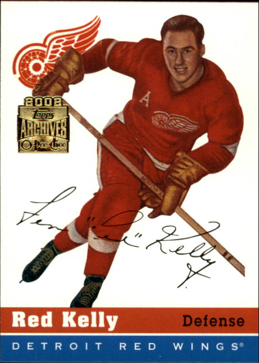 2001-02 Topps Archives #72 Red Kelly