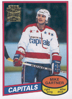 2001-02 Topps Archives #81 Mike Gartner
