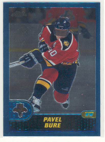 2001-02 Topps Chrome #8 Pavel Bure
