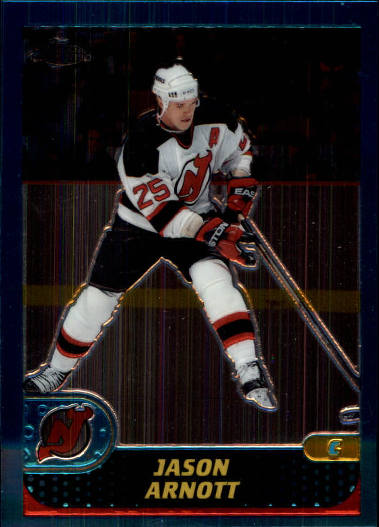 2001-02 Topps Chrome #31 Jason Arnott