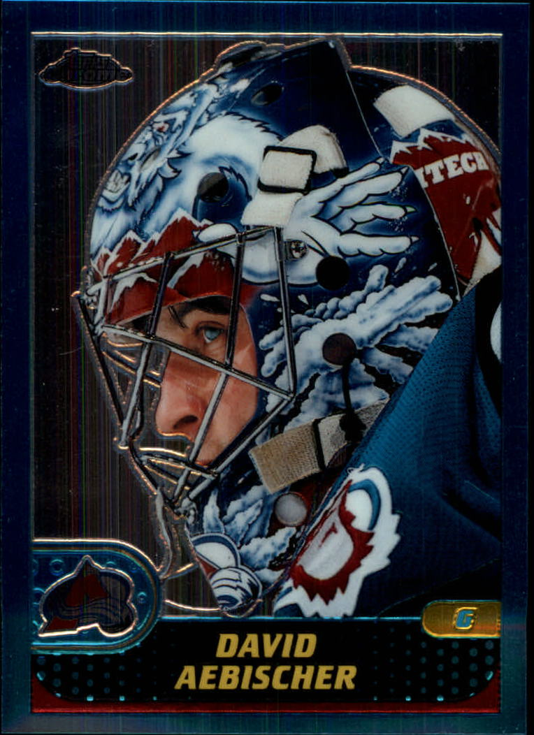 2001-02 Topps Chrome #46 David Aebischer