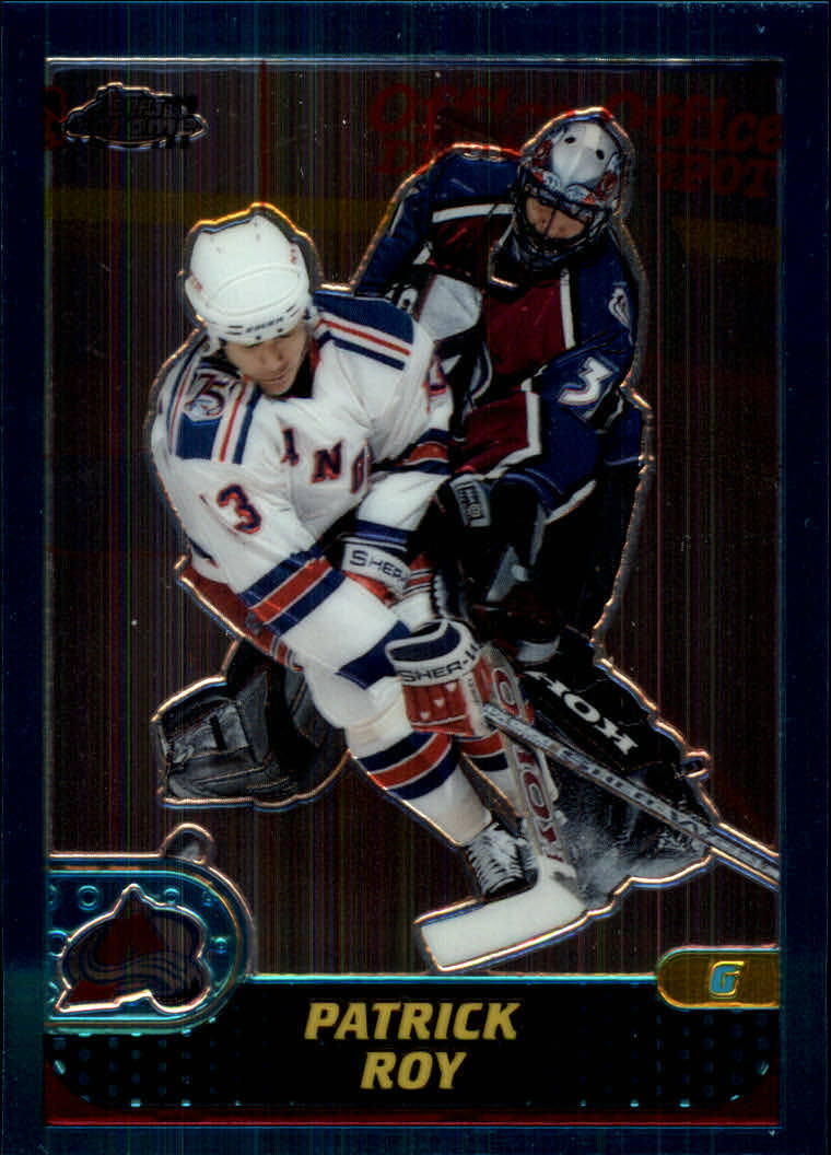 2001-02 Topps Chrome #47 Patrick Roy