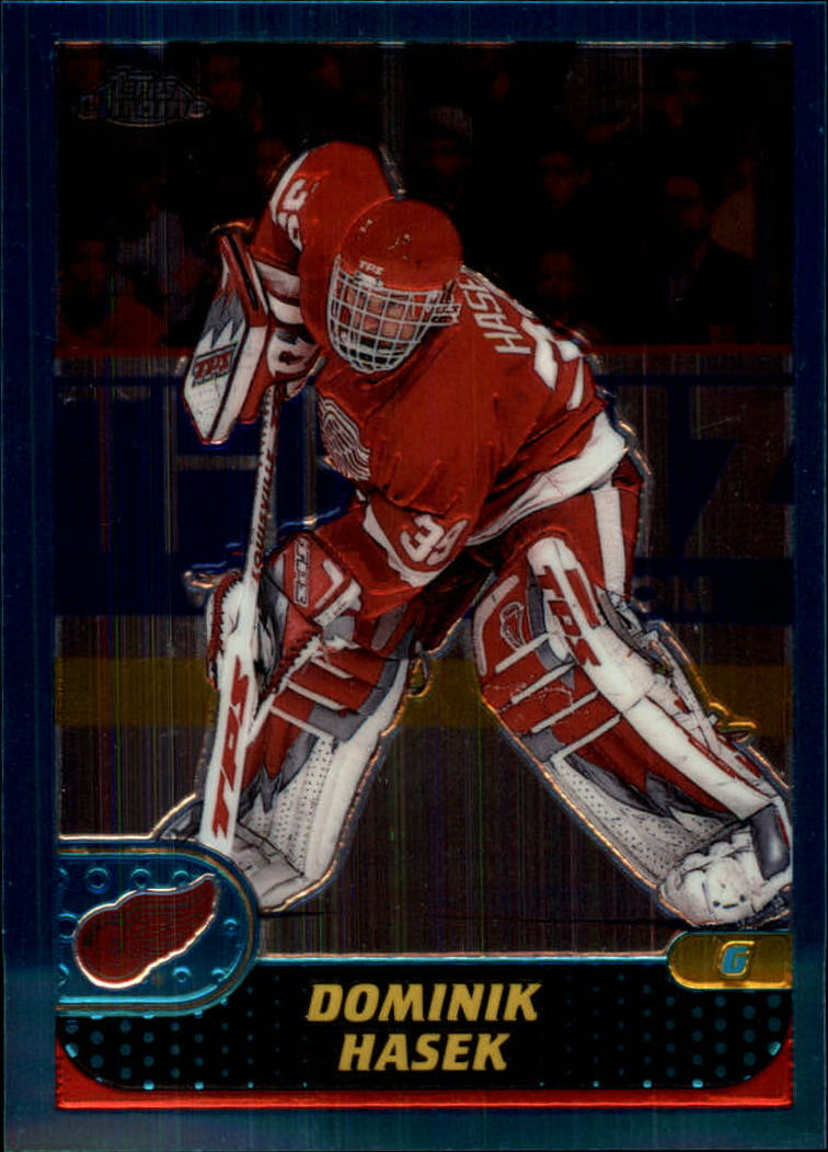 2001-02 Topps Chrome #49 Dominik Hasek