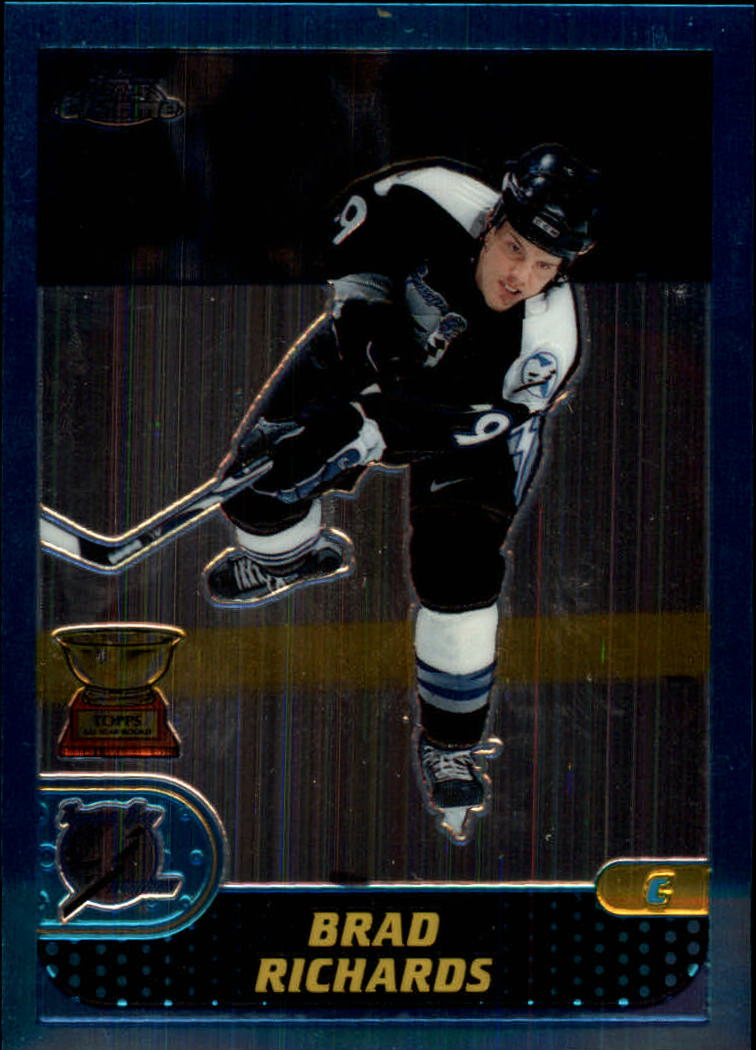 2001-02 Topps Chrome #64 Brad Richards
