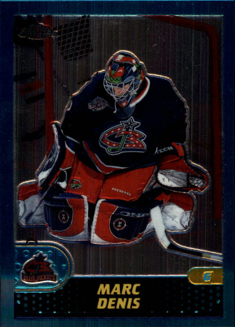 2001-02 Topps Chrome #89 Marc Denis