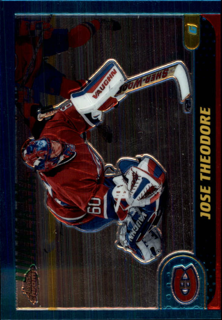 2001-02 Topps Chrome #98 Jose Theodore