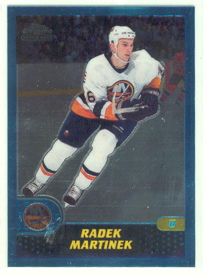 2001-02 Topps Chrome #160 Radek Martinek RC