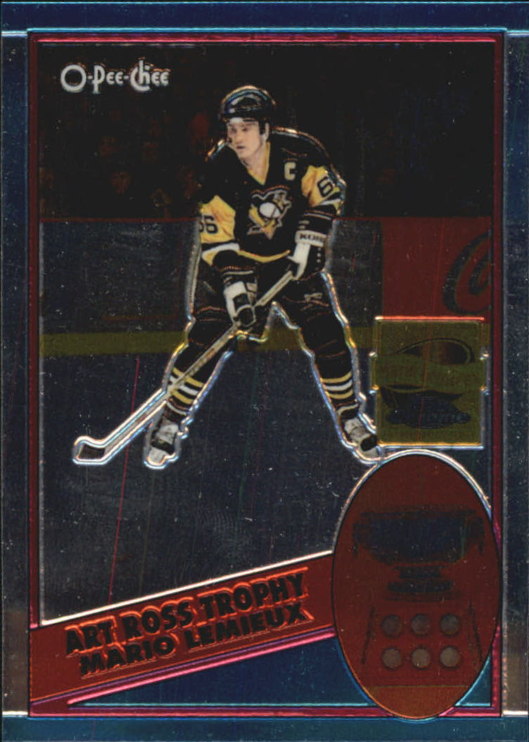 2001-02 Topps Chrome Mario Lemieux Reprints #1 Mario Lemieux