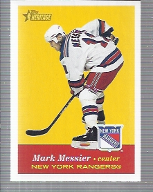 2001-02 Topps Heritage #14 Mark Messier