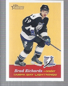 2001-02 Topps Heritage #26 Brad Richards