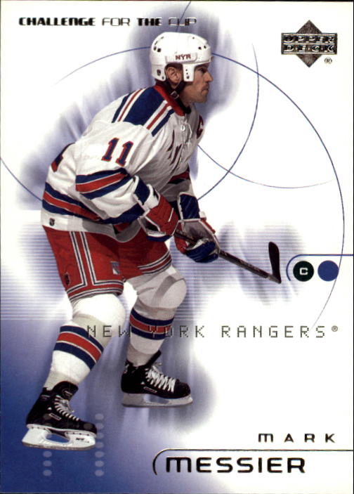 2001-02 UD Challenge for the Cup #57 Mark Messier