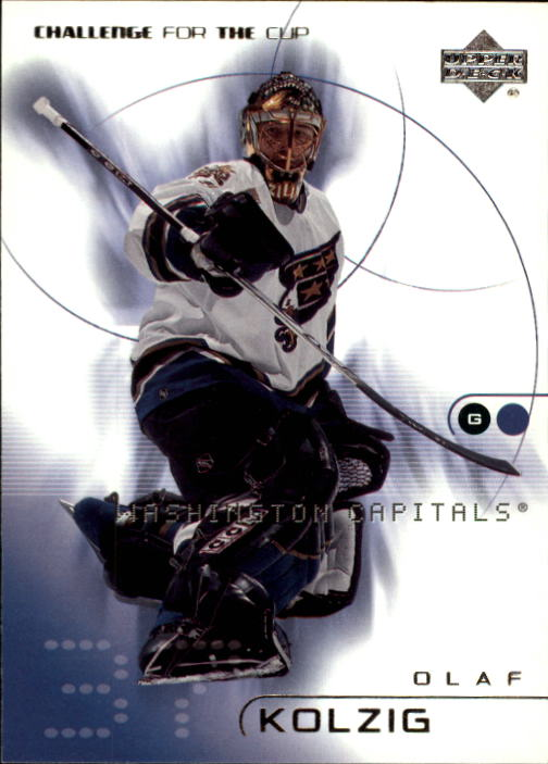 2001-02 UD Challenge for the Cup #89 Olaf Kolzig
