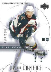 2001-02 UD Challenge for the Cup #95 Ilya Kovalchuk RC
