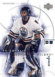 2001-02 UD Challenge for the Cup #106 Ty Conklin RC