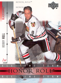 2001-02 Upper Deck Honor Roll #1 Bobby Hull