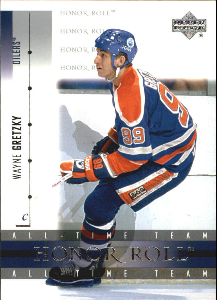2001-02 Upper Deck Honor Roll #2 Wayne Gretzky front image