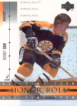 2001-02 Upper Deck Honor Roll #4 Bobby Orr