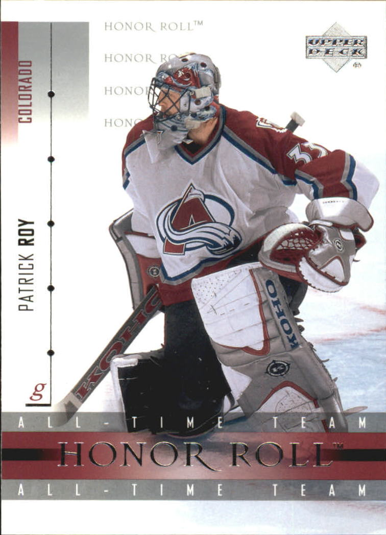 2001-02 Upper Deck Honor Roll #6 Patrick Roy