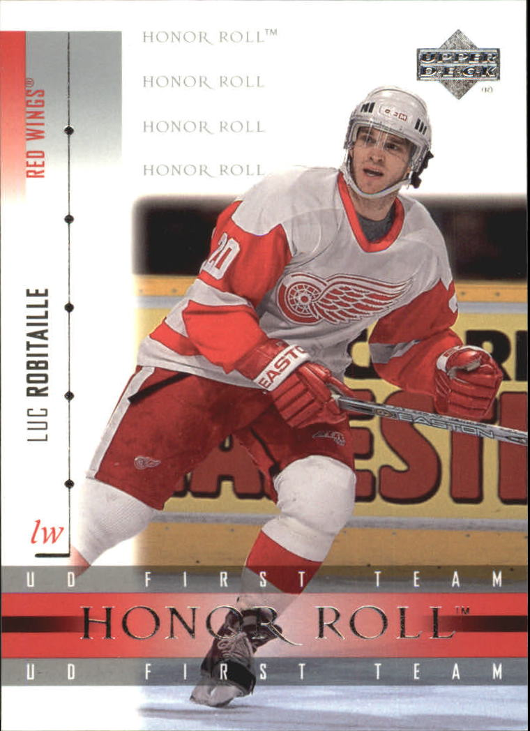2001-02 Upper Deck Honor Roll #7 Luc Robitaille