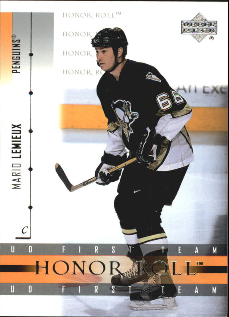 2001-02 Upper Deck Honor Roll #8 Mario Lemieux