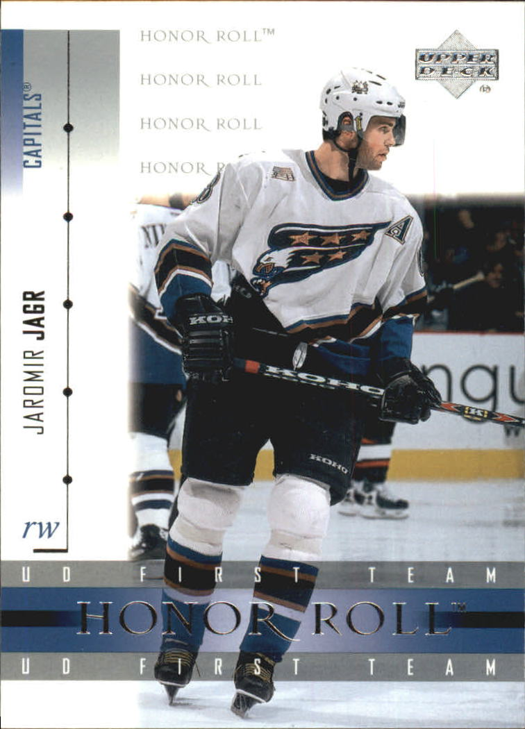 2001-02 Upper Deck Honor Roll #9 Jaromir Jagr