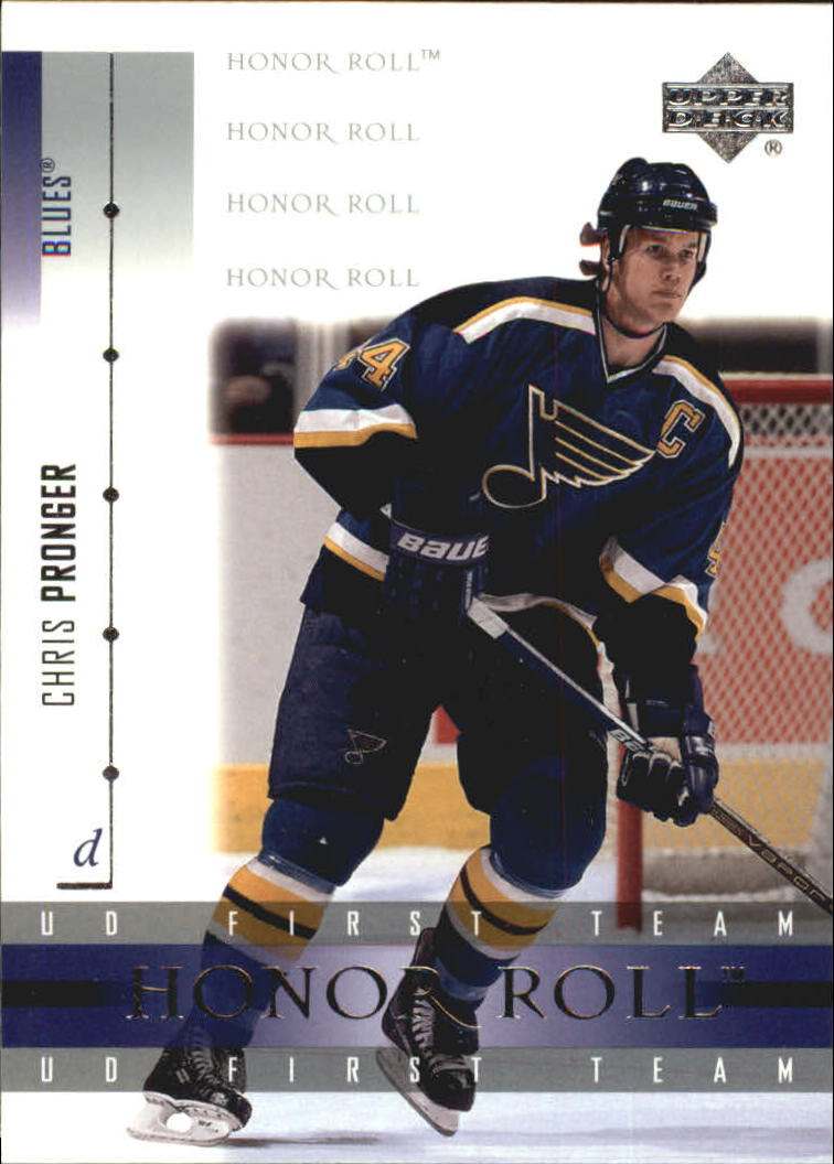 2001-02 Upper Deck Honor Roll #10 Chris Pronger