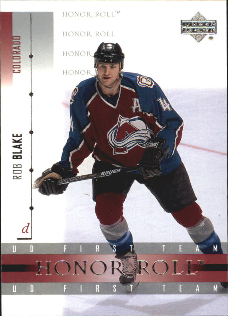 2001-02 Upper Deck Honor Roll #11 Rob Blake