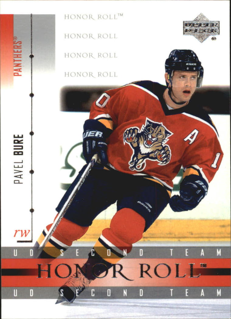 2001-02 Upper Deck Honor Roll #15 Pavel Bure