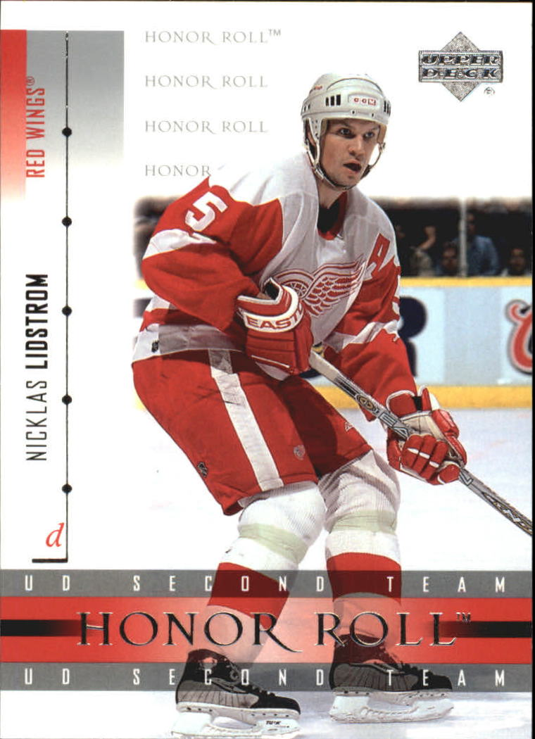 2001-02 Upper Deck Honor Roll #16 Nicklas Lidstrom