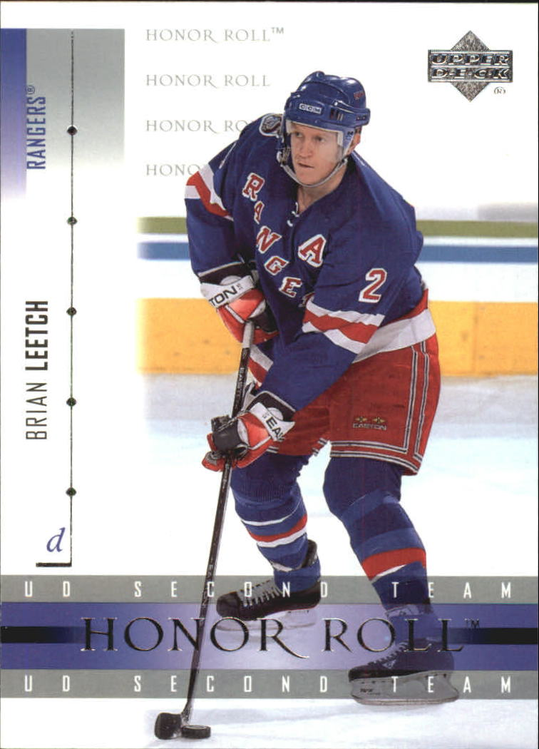2001-02 Upper Deck Honor Roll #17 Brian Leetch
