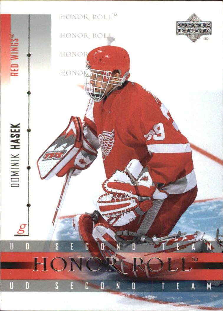 2001-02 Upper Deck Honor Roll #18 Dominik Hasek