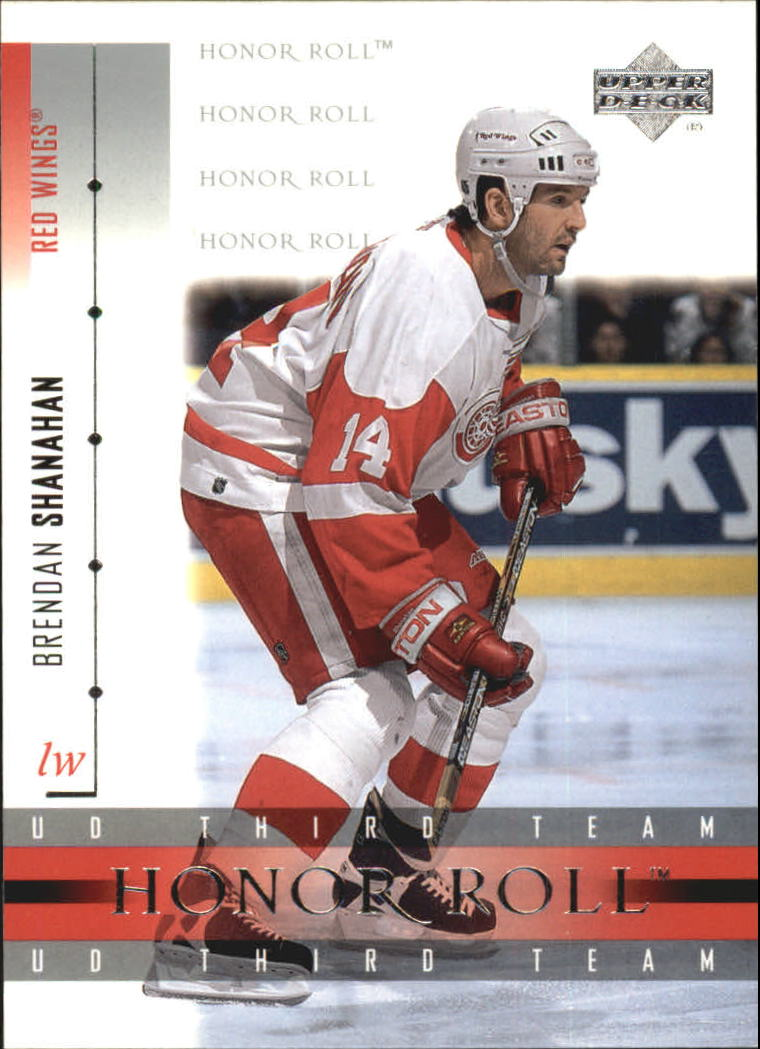 2001-02 Upper Deck Honor Roll #19 Brendan Shanahan