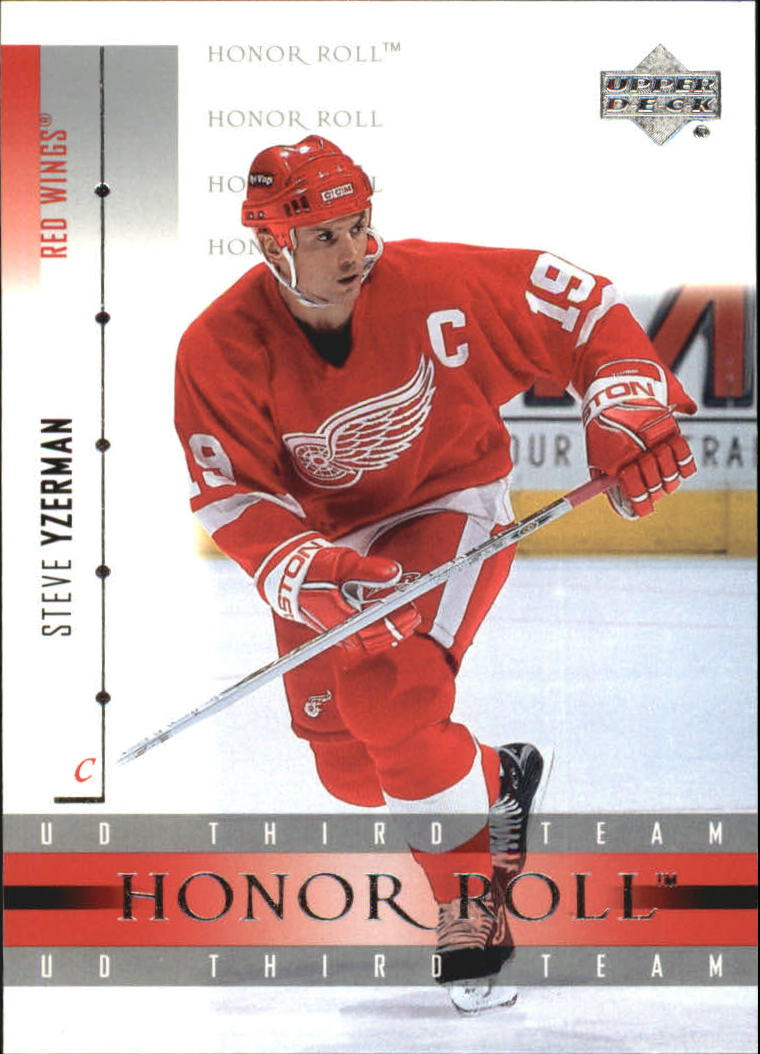 2001-02 Upper Deck Honor Roll #20 Steve Yzerman front image