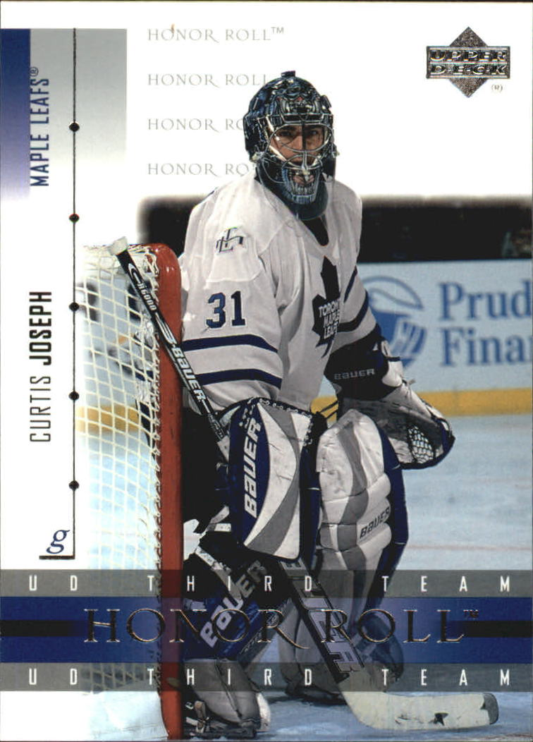 2001-02 Upper Deck Honor Roll #24 Curtis Joseph