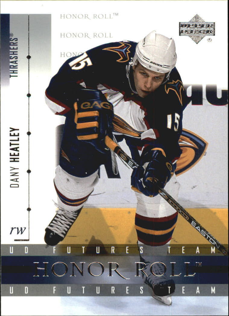 2001-02 Upper Deck Honor Roll #25 Dany Heatley
