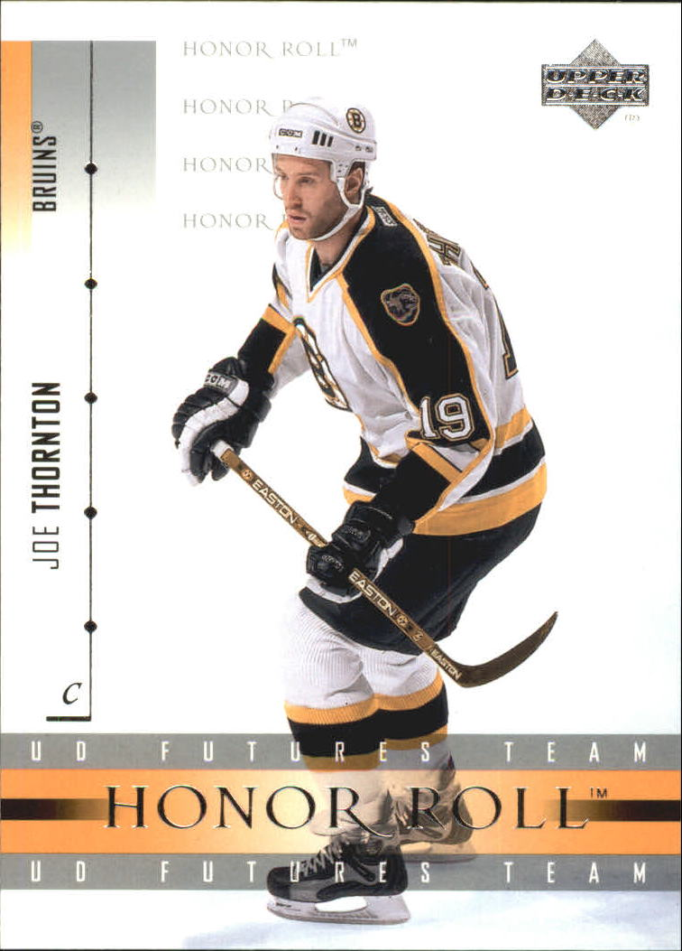 2001-02 Upper Deck Honor Roll #26 Joe Thornton