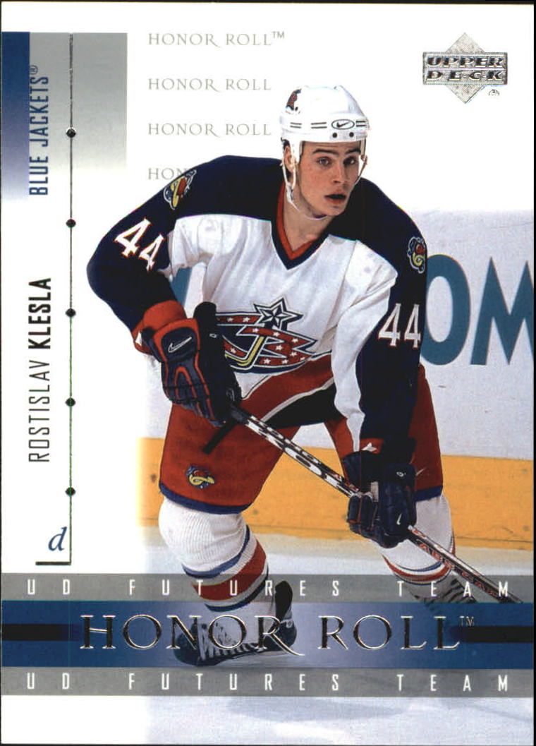 2001-02 Upper Deck Honor Roll #28 Rostislav Klesla