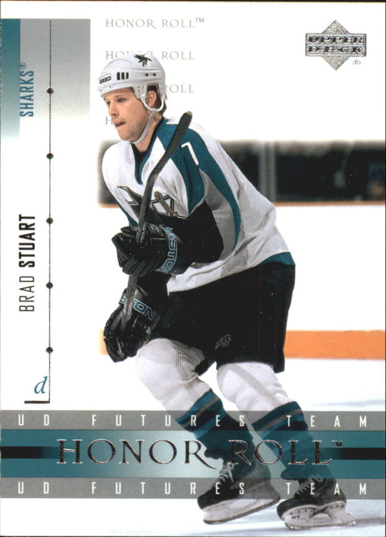 2001-02 Upper Deck Honor Roll #29 Brad Stuart