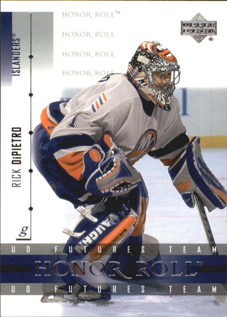 2001-02 Upper Deck Honor Roll #30 Rick DiPietro