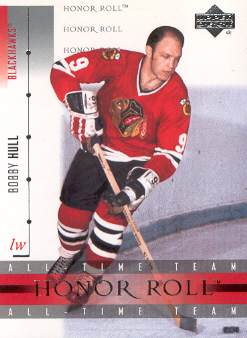 2001-02 Upper Deck Honor Roll #31 Bobby Hull