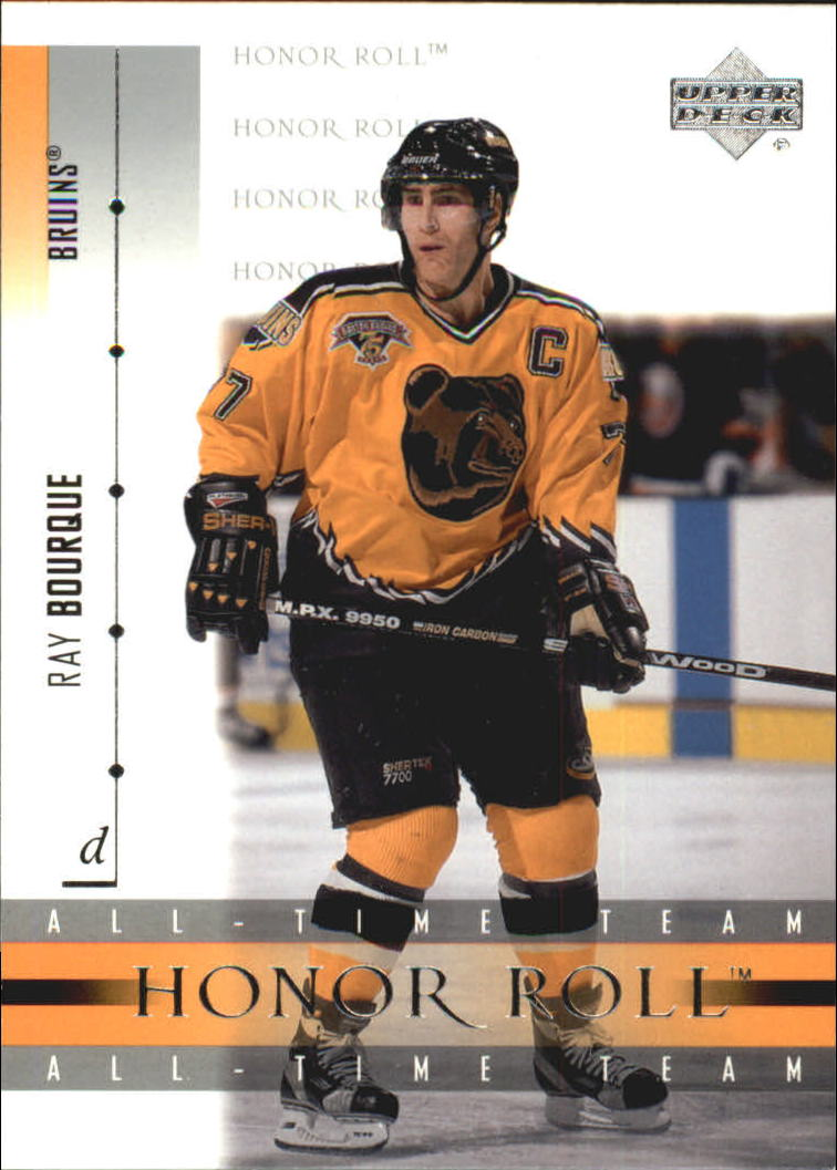 2001-02 Upper Deck Honor Roll #35 Ray Bourque