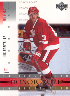 2001-02 Upper Deck Honor Roll #37 Luc Robitaille