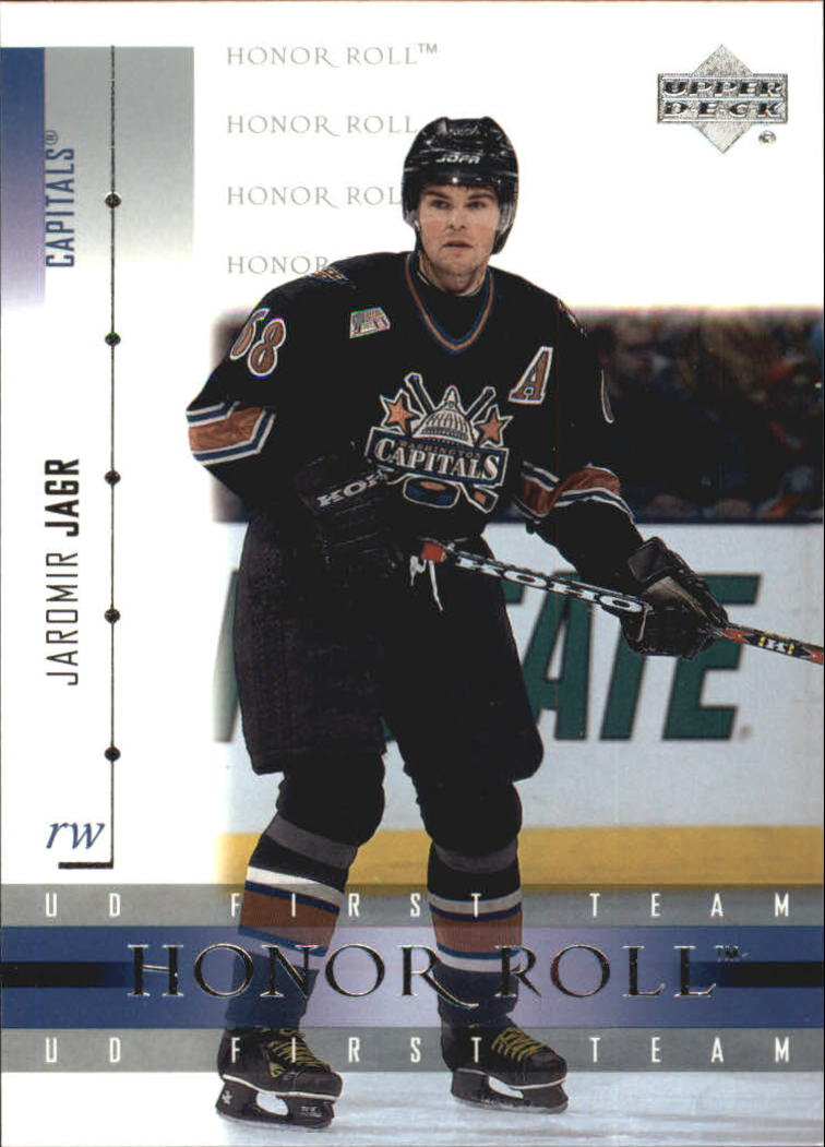 2001-02 Upper Deck Honor Roll #39 Jaromir Jagr