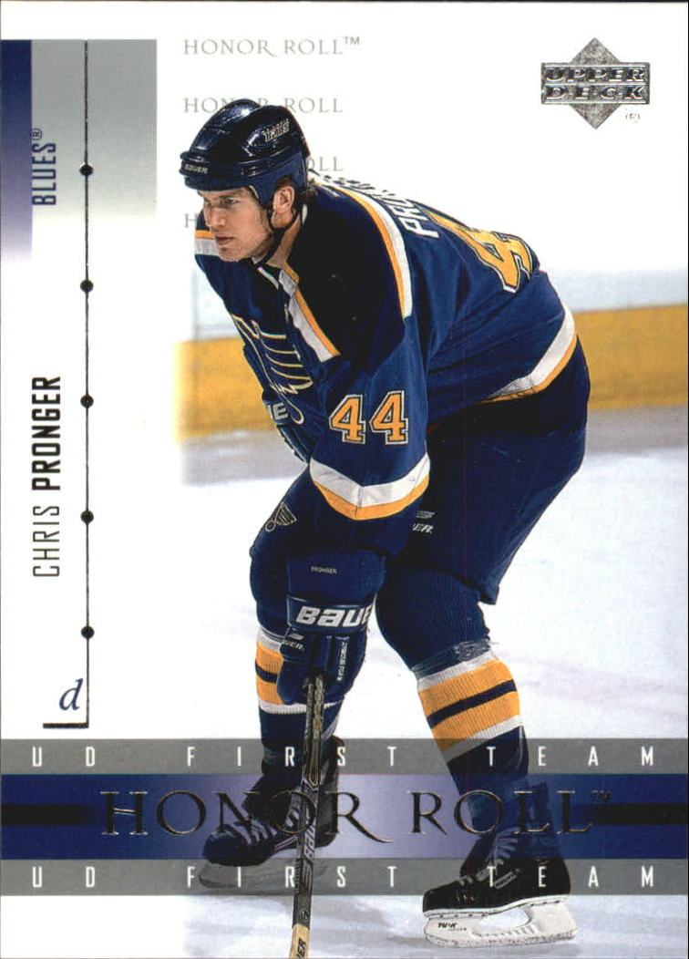 2001-02 Upper Deck Honor Roll #40 Chris Pronger