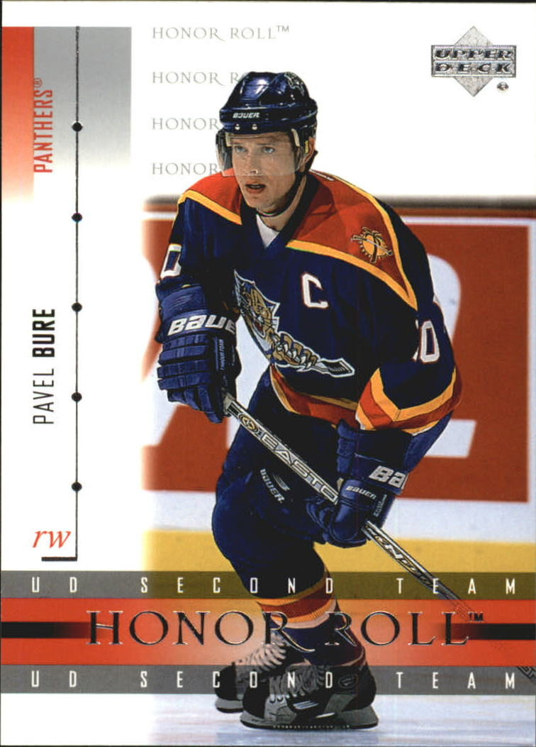 2001-02 Upper Deck Honor Roll #45 Pavel Bure
