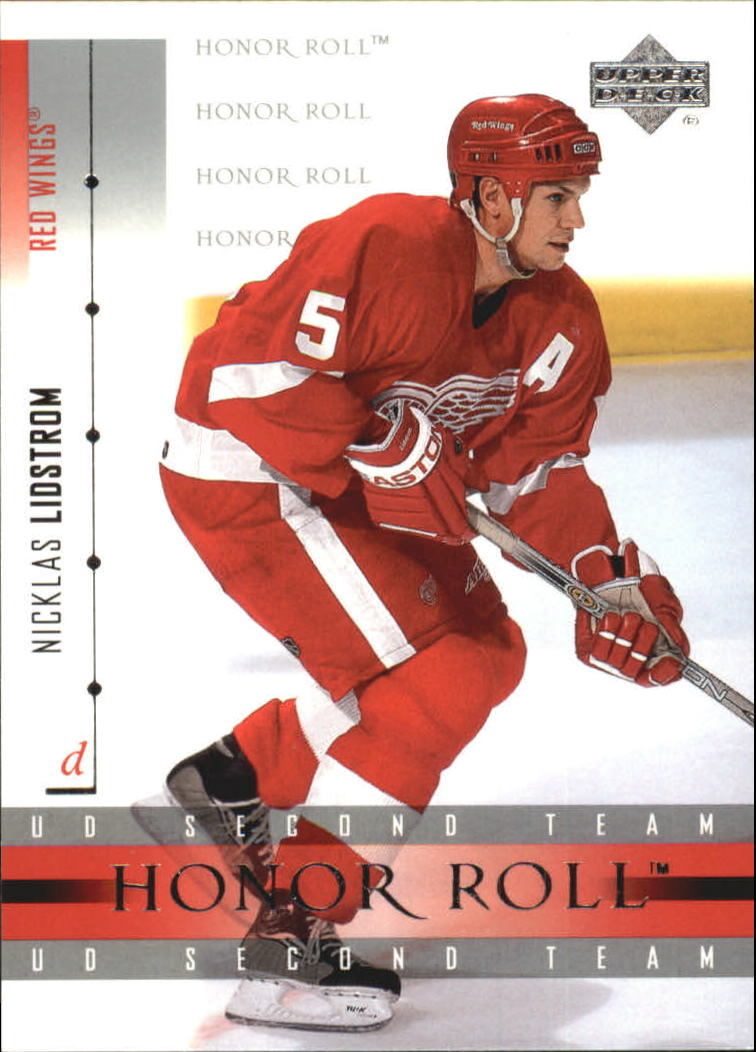 2001-02 Upper Deck Honor Roll #46 Nicklas Lidstrom