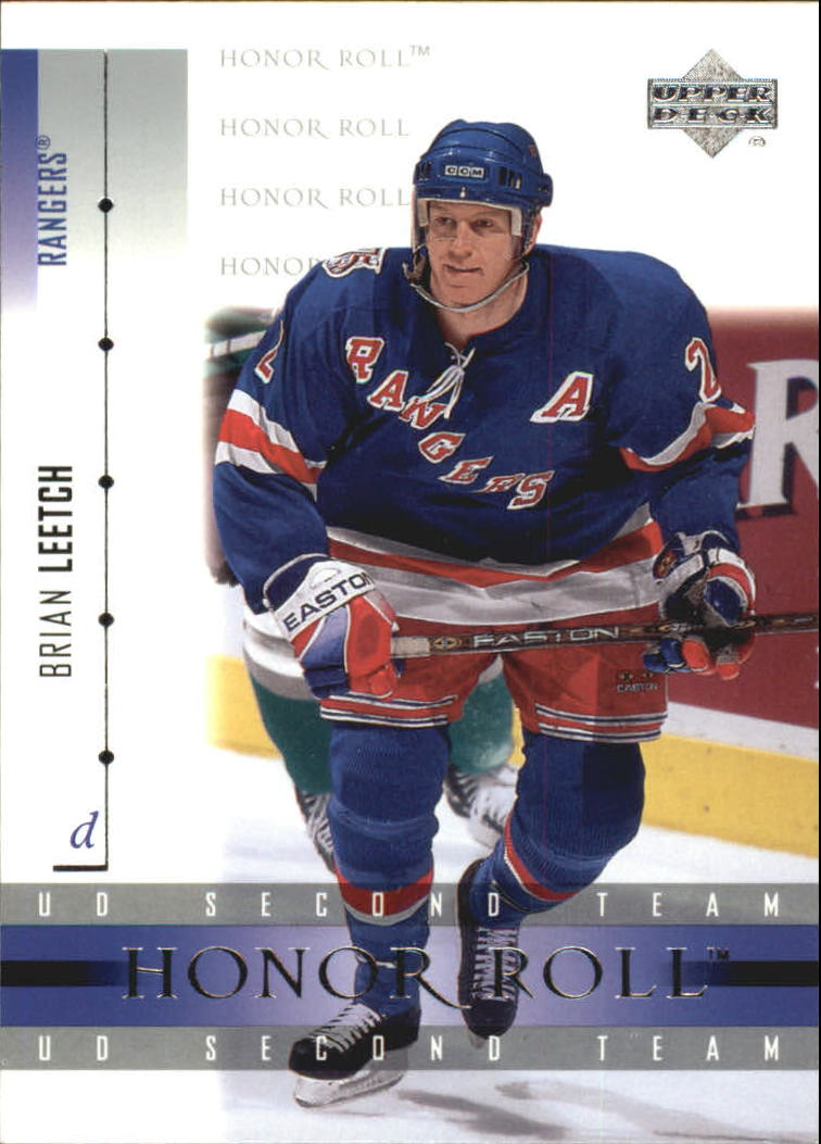 2001-02 Upper Deck Honor Roll #47 Brian Leetch