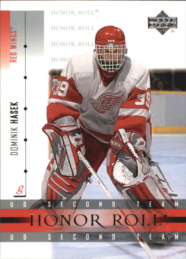 2001-02 Upper Deck Honor Roll #48 Dominik Hasek front image